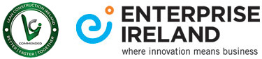 LCI Commendation mark and Enterprise Ireland